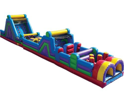 70 Ft Rainbow Run Obstacle Course