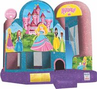 Backyard Princess Combo Bounce & Slide