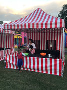10' X 10' Pop-up Carnival Tent Booth