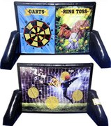 Sticky Soccer, Darts, & Ring Toss 3-in1 Game