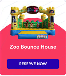 Zoo Theme Bounce House