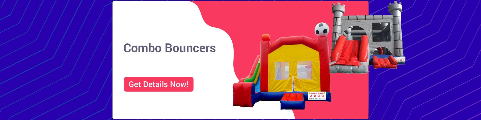 Combo Bouncer Rentals
