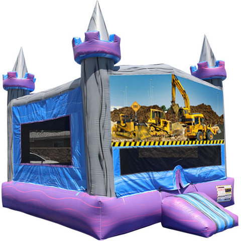 Construction Crystal Castle Fun Jump