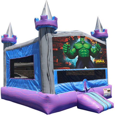 Hulk Crystal Castle Fun Jump