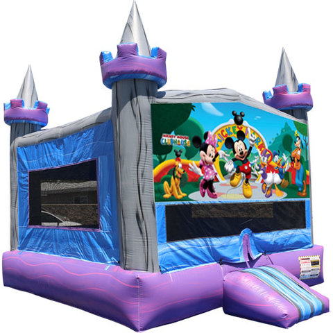 Mickey Mouse Crystal Castle Fun Jump
