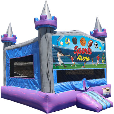 Sports Arena Crystal Castle Fun Jump