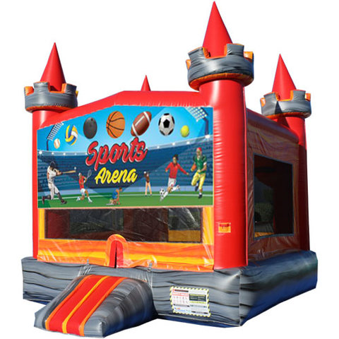 Sports Arena Medieval Castle Fun Jump
