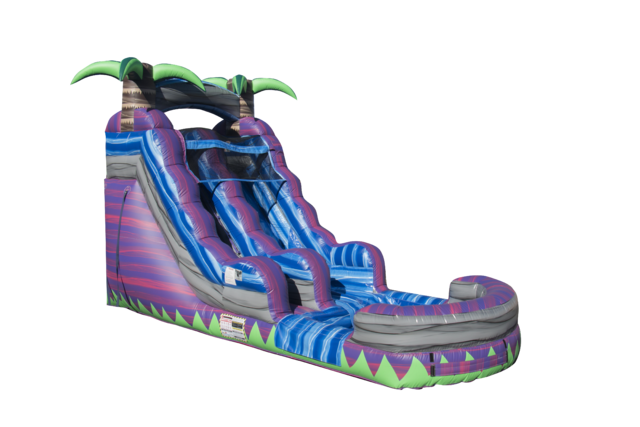 15 ft Purple Crush Water Slide