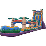 27' Tiki Plunge Water Slide