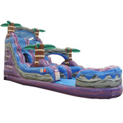 18ft Purple Hurricane Water slide