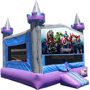 Avengers Crystal Castle Fun Jump