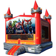 Avengers Medieval Castle Fun Jump