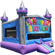 Happy Birthday Crystal Castle Fun Jump