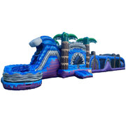 60ft Majestic Falls Obstacle Course Combo