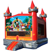 Mickey Mouse Medieval Castle Fun Jump