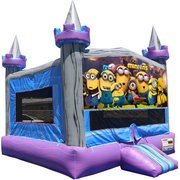 Minions Crystal Castle Fun Jump