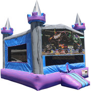 Monster Trucks Crystal Castle Fun Jump