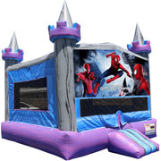 Spiderman Crystal Castle Fun Jump