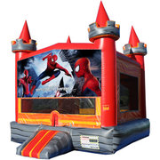 Spiderman Medieval Castle Fun Jump