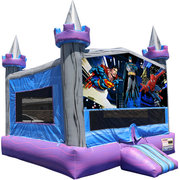 Super Heroes Crystal Castle Fun Jump