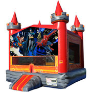 Super Heroes Medieval Castle Fun Jump