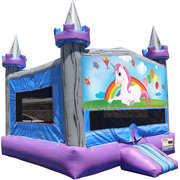 Unicorn Crystal Castle Fun Jump