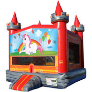 Unicorn Medieval Castle Fun Jump