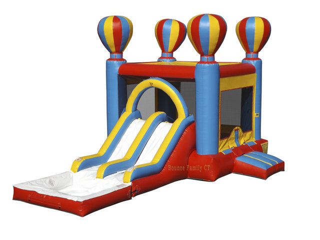 Double Lane Balloon Bouncer w/Hoop! (Dry Use)
