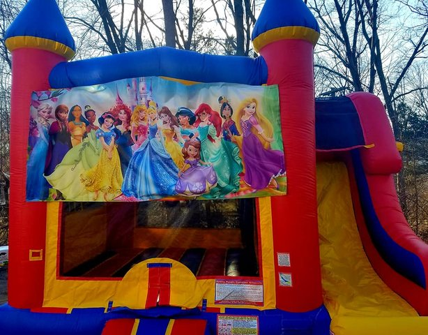 Disney Princess Module Combo Bouncer (Wet Use)