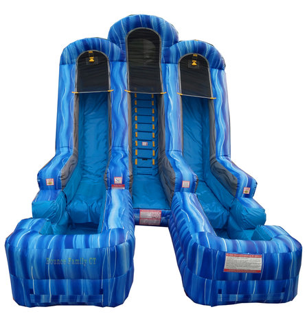 20FT Blue Giant Slide (Wet Use)