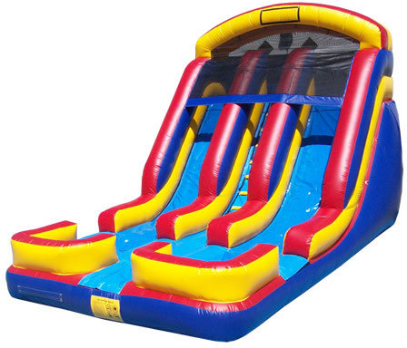 Master Blaster Dual Lane 18' Wet or Dry Slide