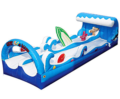 Surf the Wave Dual Lane Slip-N-Slide