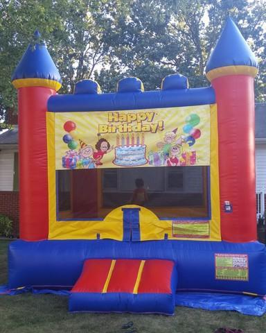 Happy Birthday Bouncy Castle