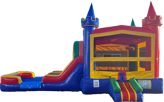 Jolly Castle Dual Lane Wet or Dry Combo