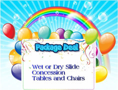 Wet or Dry Slide Package - save $35