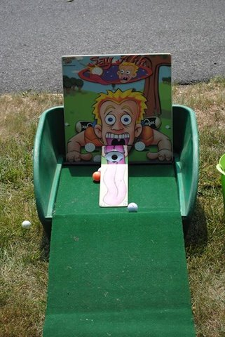 Say Ahh Miniature Golf Carnival Game