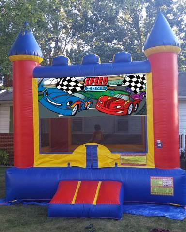 Speed Zone Bouncy Castle