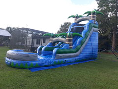 20ft. Blue Crush Slide