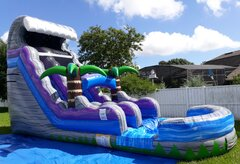 20 ft Cool Breeze Water Slide