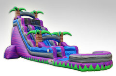 22 ft Purple Waves Waterslide