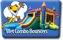 Wet Combo Bouncer Rentals
