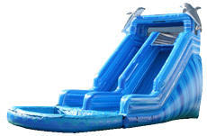 Blue Dolphin 16ft Slide