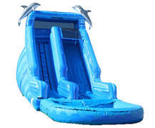 Blue Dolphin 16ft Water Slide