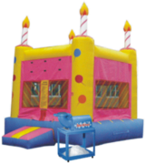 Birthday Cake 15x15 Deal with Snow Cone Machine