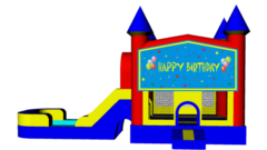Boys Happy Birthday Combo 4 in 1 Bouncer