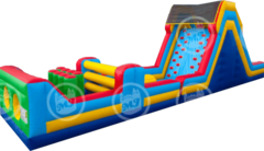Obstacle Course - 50 Feet Long w/ GIANT Slide