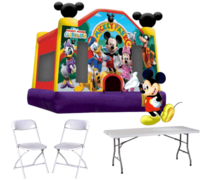 Mickey Mouse Deal with 16 Chairs and 2 Tables