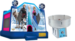 Disney Frozen 13x13 Deal with Cotton Candy Machine