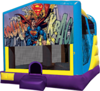 Superman Large C4 Dry Combo with Slide & Basketball Hoop