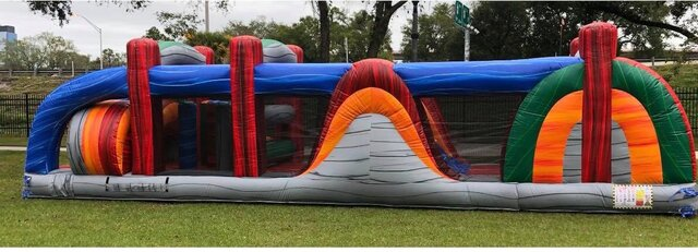 Knights 35ft Obstacle Course